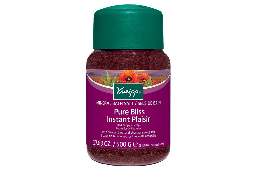 Red Poppy & Hemp Pure Bliss Mineral Bath Salt