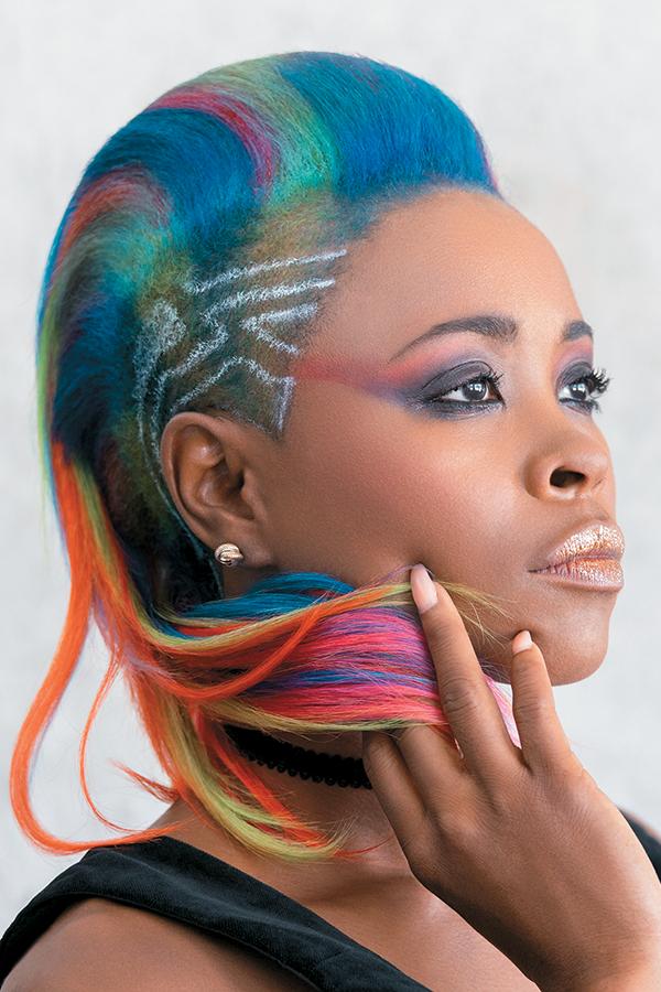 Rainbow Hair Color Goes Mainstream | American Salon