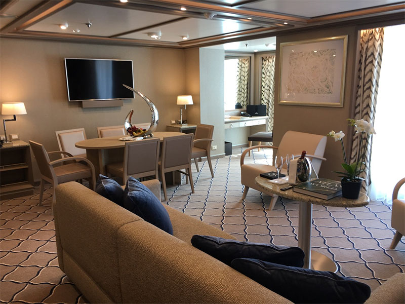 One of Silver Muse's suites