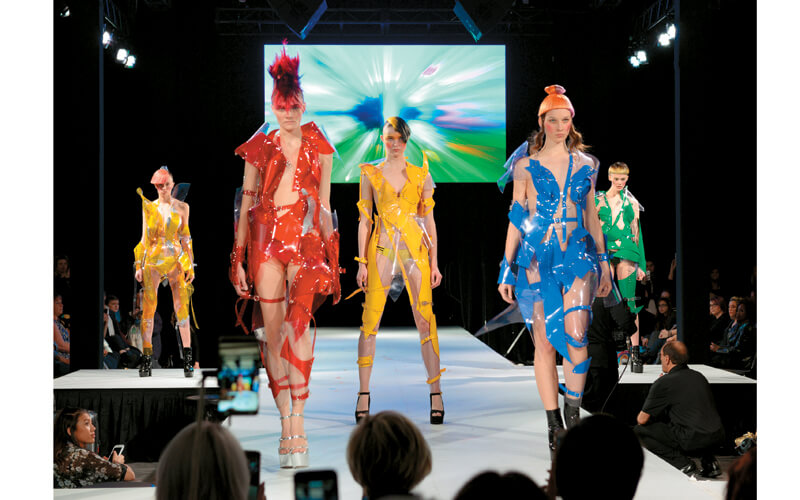 A visual feast served up by TIGI's Anthony Mascolo.