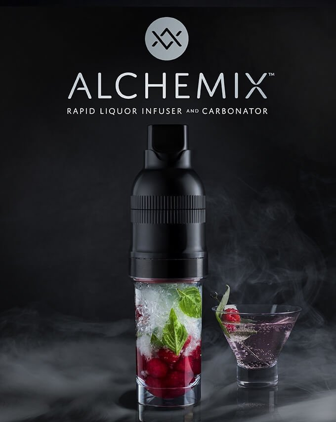 Host Studios Alchemix infusion and carbonation device as seen on Kickstarter - What's Shakin' week of May 22, 2017