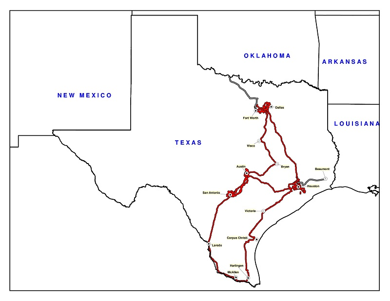 Alpheus Texas network