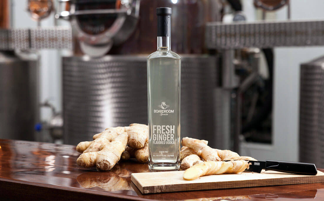 Boardroom Spirits FRESH Ginger vodka - What's Shakin' week of May 15, 2017