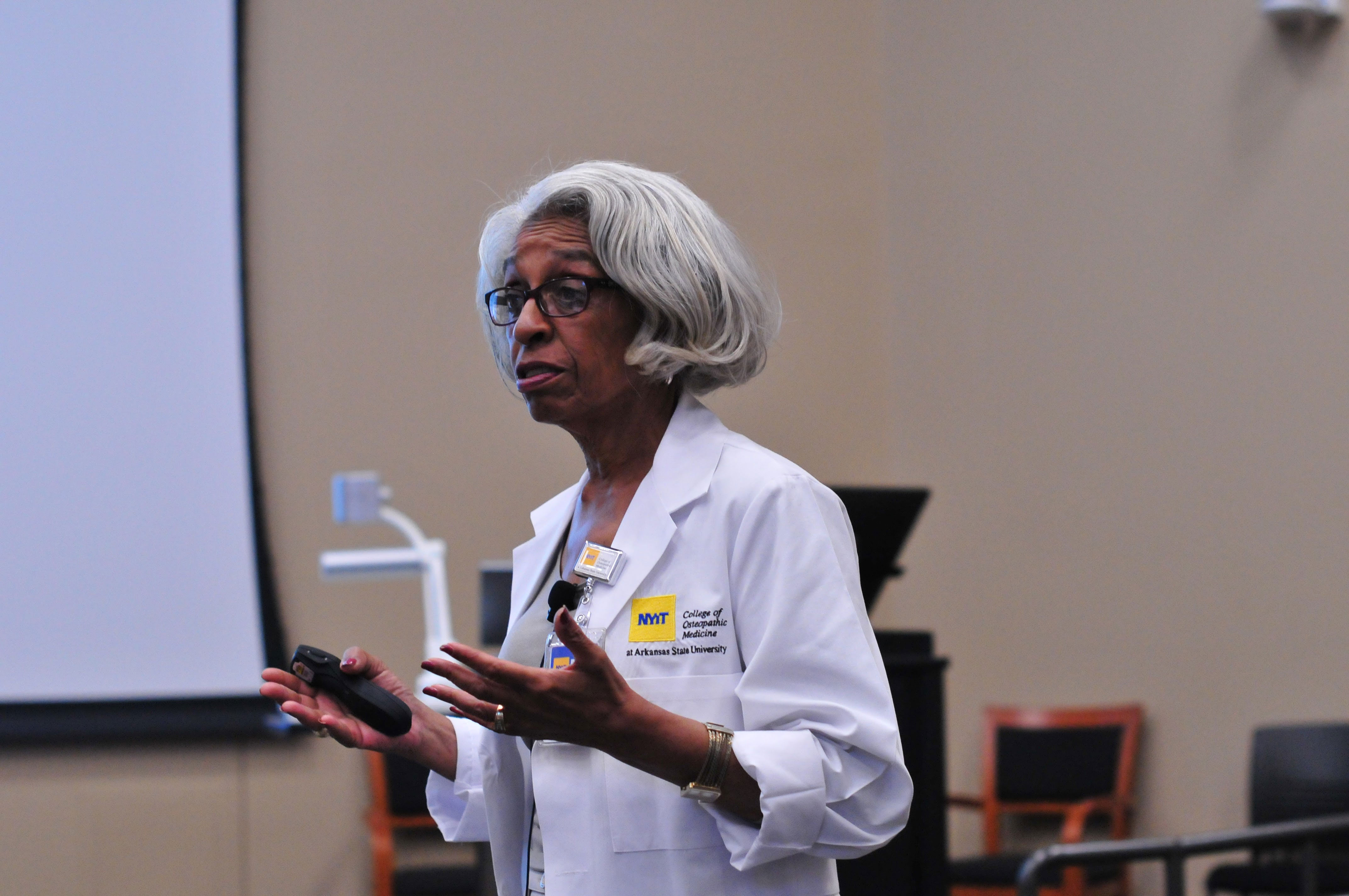 Barbara Ross-Lee, the first African-American woman to become dean of a medical school