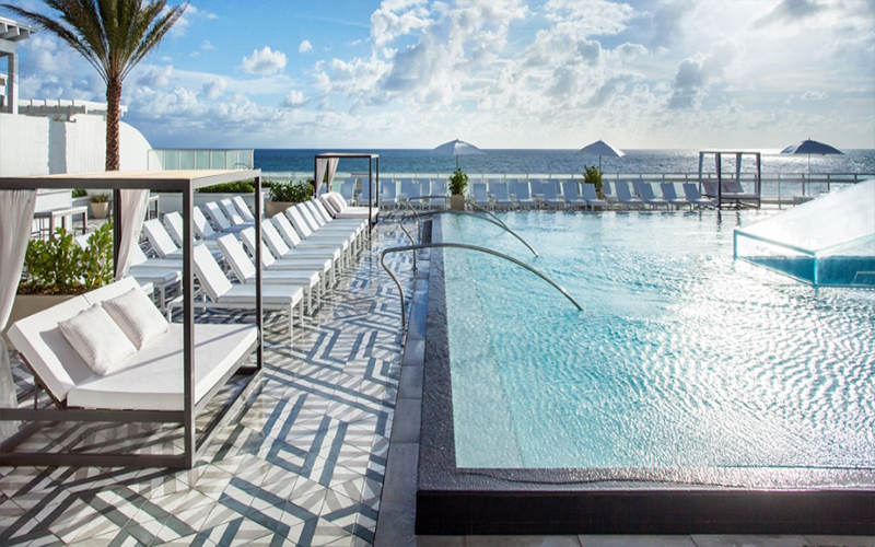 The Cool Pool Of The Week W Fort Lauderdale Travel Agent Central