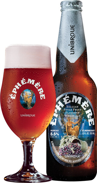 Unibroue Éphémère Sureau elderberry beer - What's Shakin' week of May 1, 2017