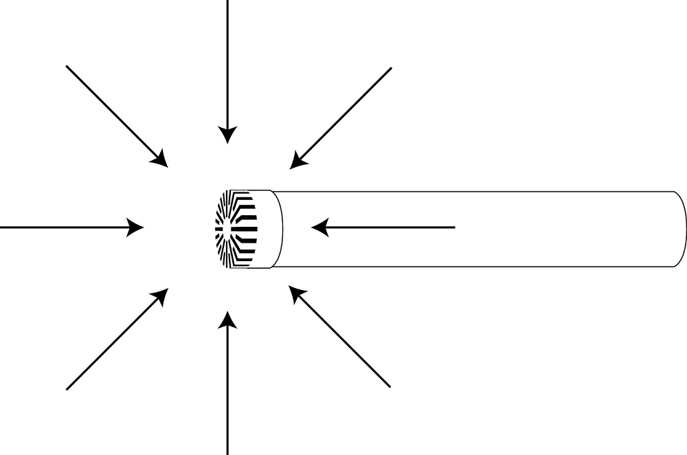 Diffuse-field microphone