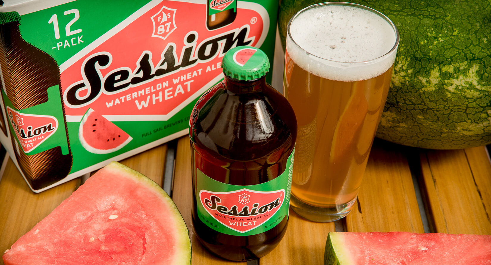 Full Sail Brewing Co. Session Watermelon Wheat Ale - What's Shakin' week of May 15, 2017