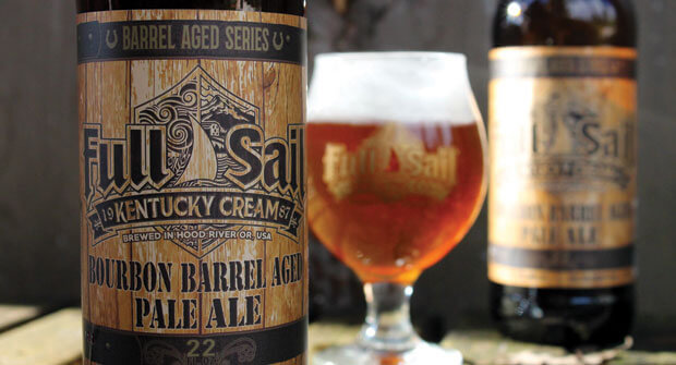 Full Sail Brewery Kentucky Cream Bourbon Barrel Aged Pale Ale - What's Shakin' week of May 8, 2017