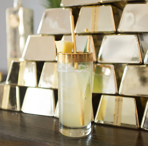 Golden Pineapple cocktail - World Whiskey Day 2017 recipes