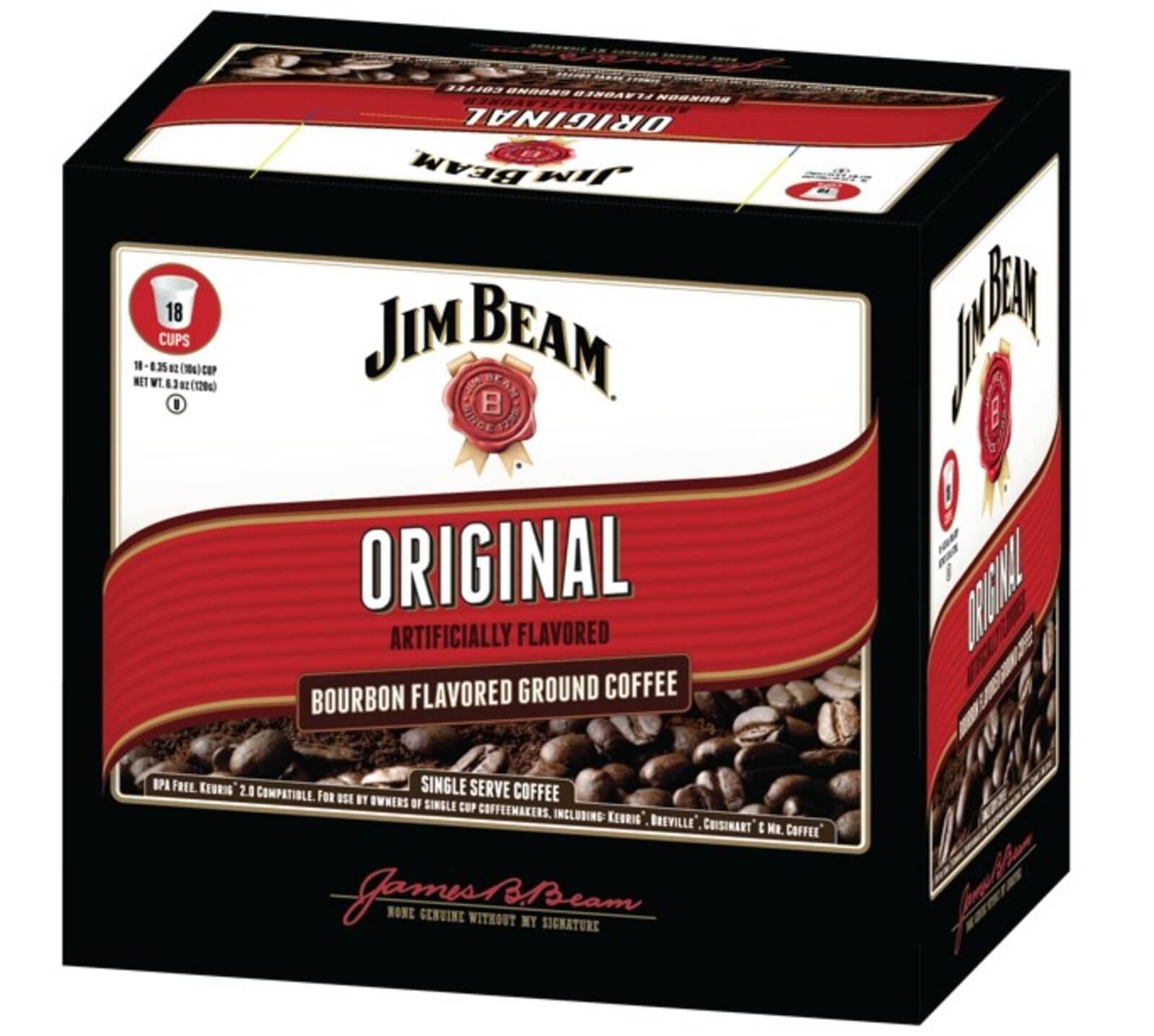 White Coffee Jim Beam Original flavor coffee - White Coffee Corporation