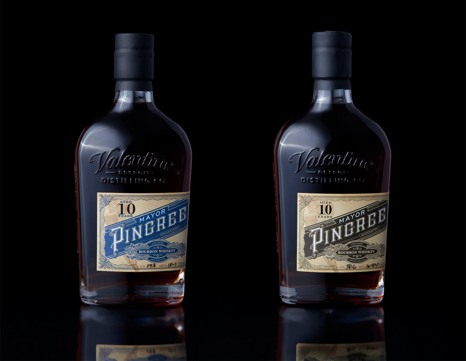 Valentine Distilling Co. Mayor Pingree bourbons - What's Shakin' week of May 15, 2017