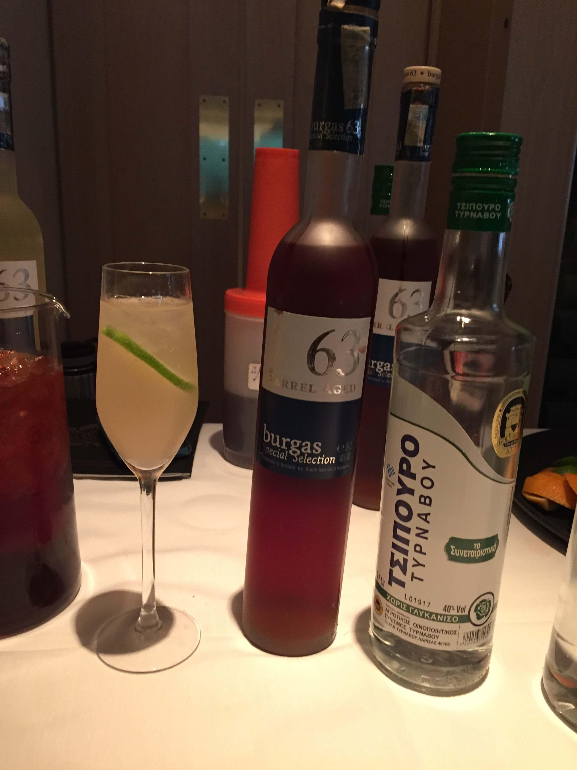 Bulgarian Rakia and Greek Tsipouro tasting - What's Shakin' week of May 15, 2017