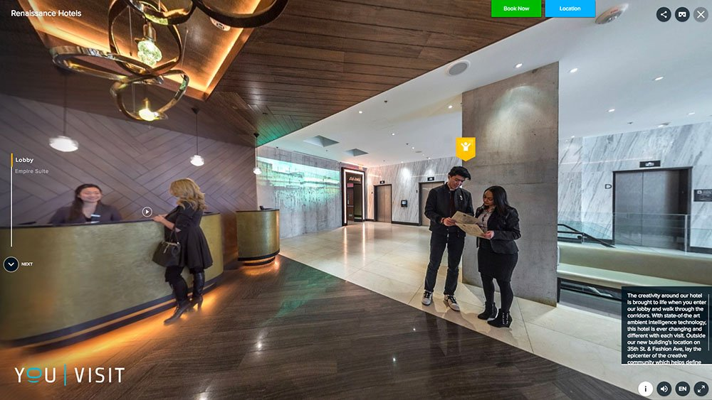 Hotels find ways to augment hospitality with technology - Rearrange my room virtual ...