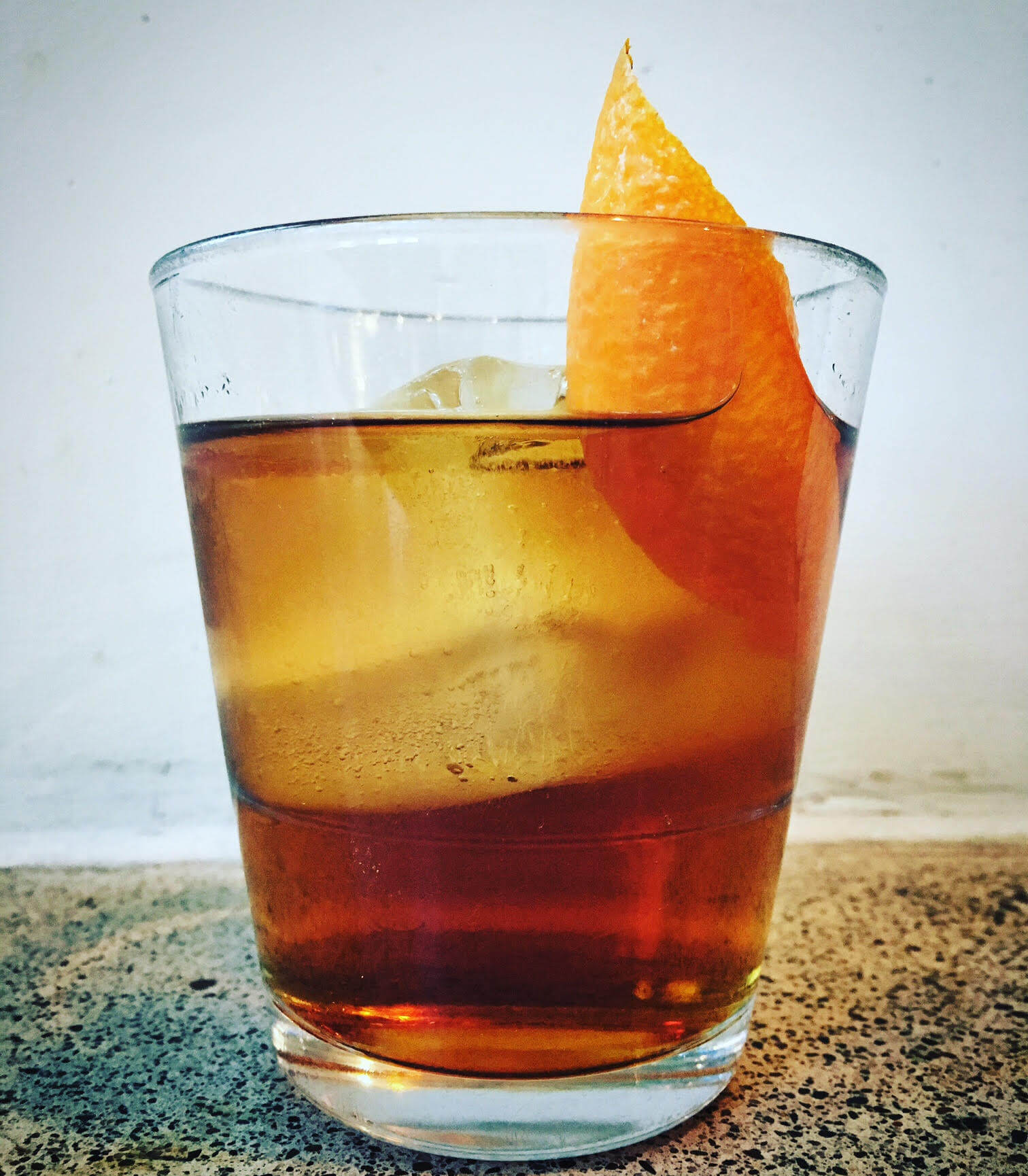 Sweet & Smoky (Just Like Me) Negroni cocktail from The Royal - 9 #negroniweek riffs