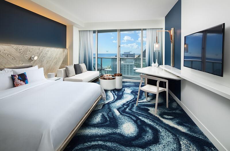 W Fort Lauderdale Guestroom