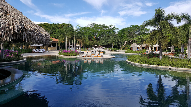 On site in costa rica luxury travel advisor - American swimming pool and spa association ...