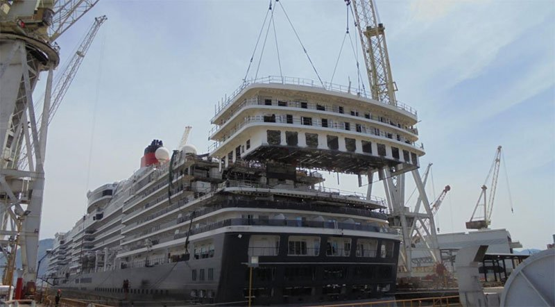 Watch Cunard S Queen Victoria Get A Newly Expanded Lido