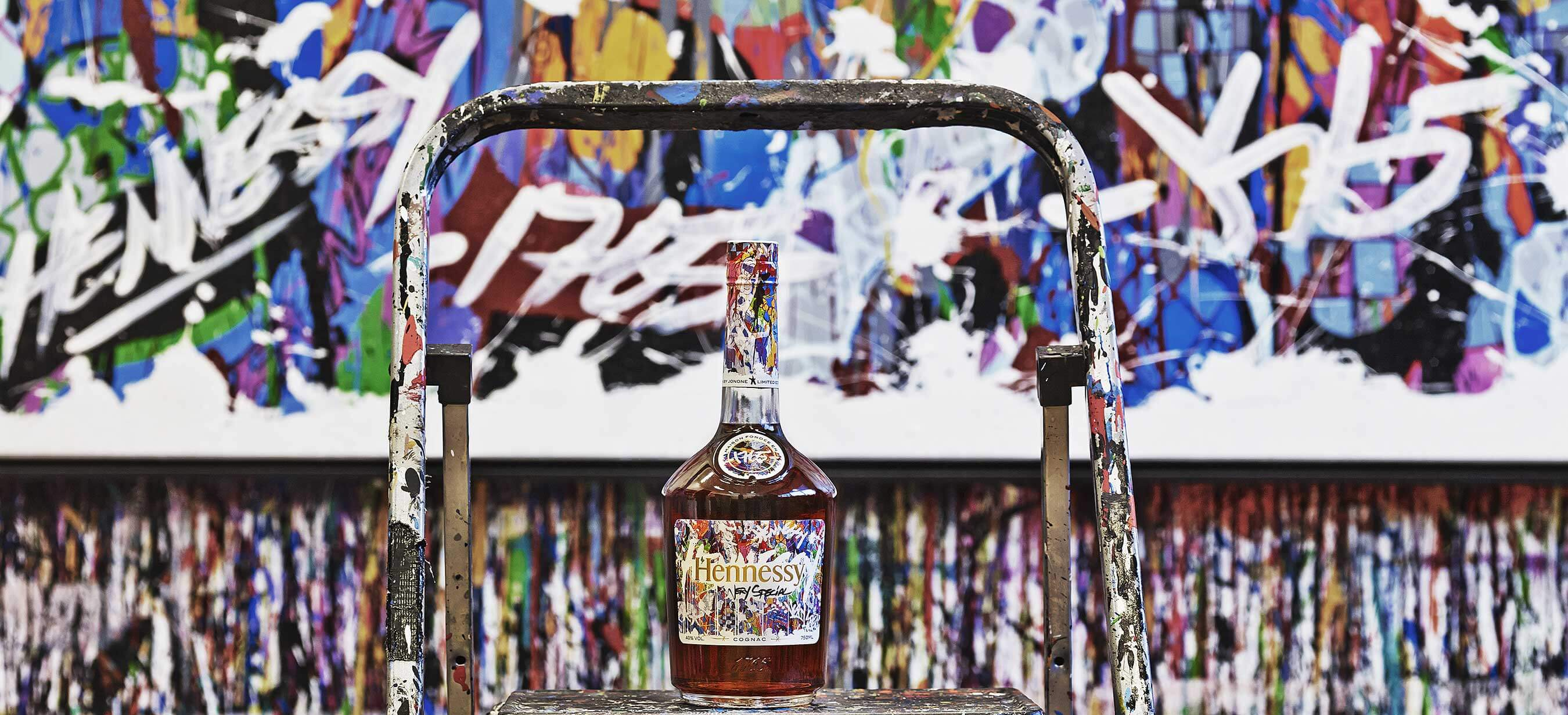 Hennessy 2017 Very Special Limited Edition bottle designed by artist JonOne - What's Shakin' week of June 26