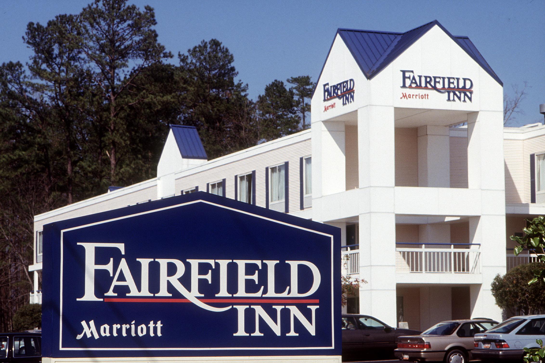 An early Fairfield Inn.