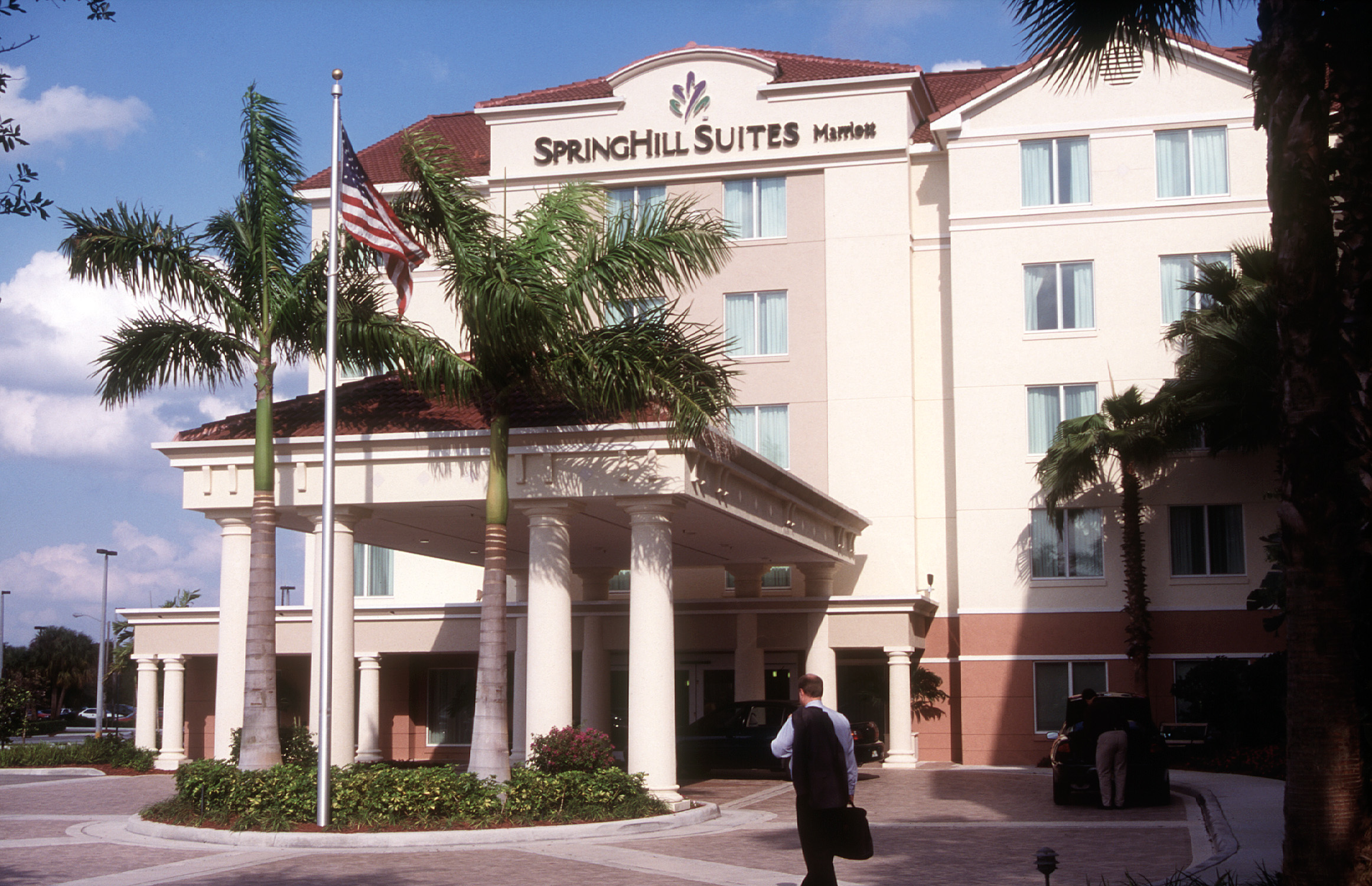 An early SpringHill Suites.