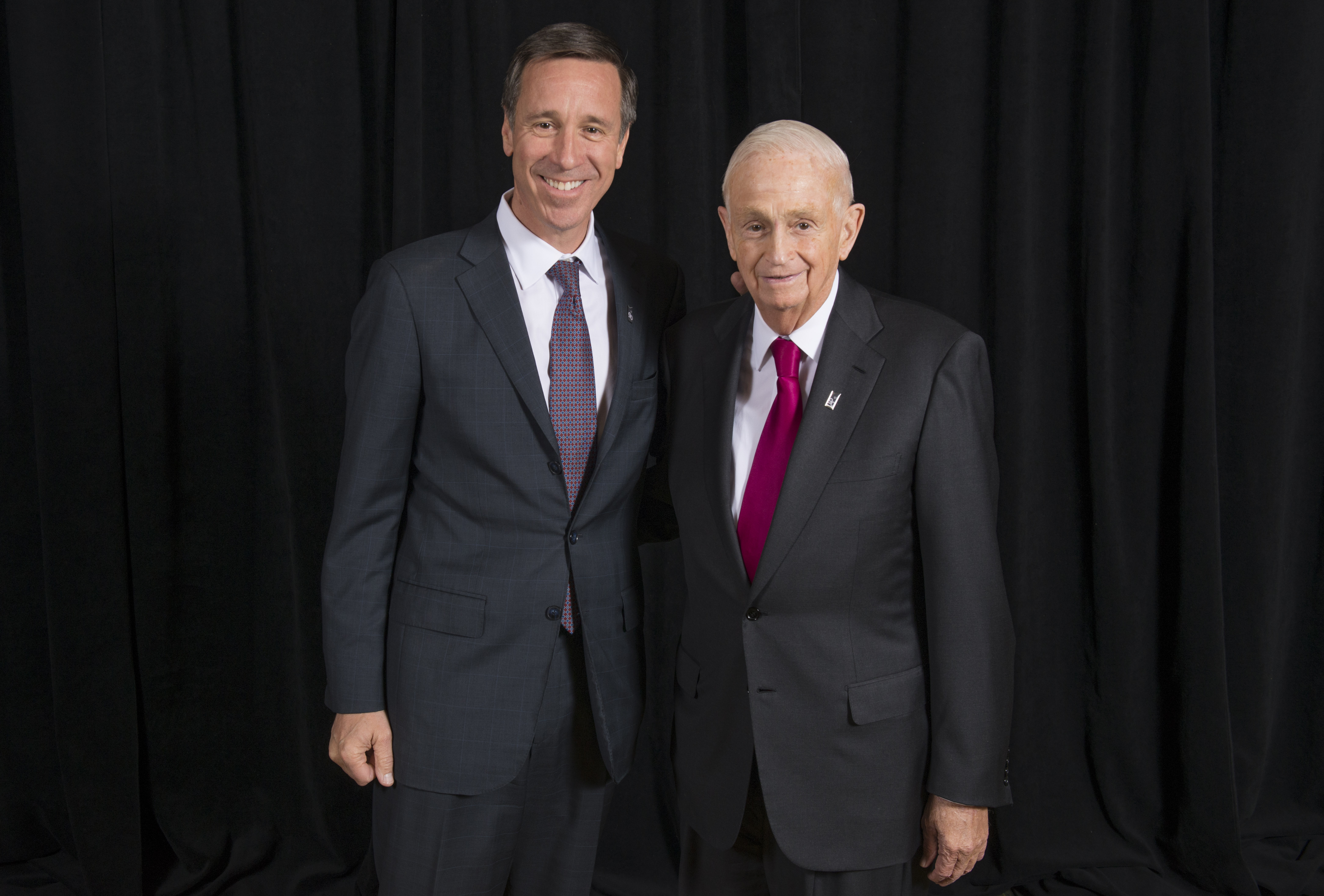 Bill Marriott has said one his wisest decisions was choosing Arne Sorenson to succeed him as CEO.