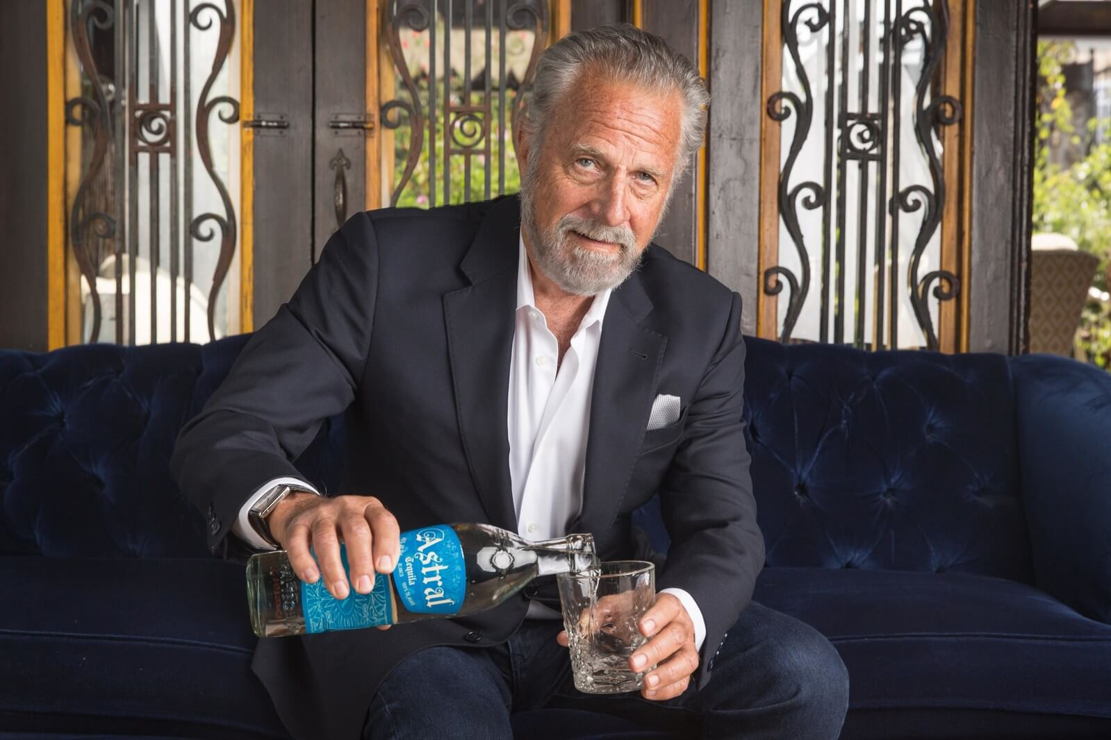 Jonathan Goldsmith, the Most Interesting Man in the World, partners with Astral Tequila - What's Shakin' week of June 12