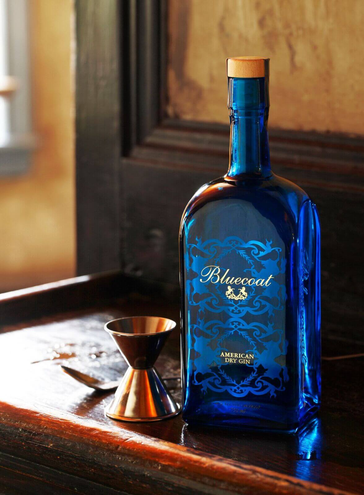Philadelphia Distilling Bluecoat American Dry Gin - American spirits for 4th of July promotions