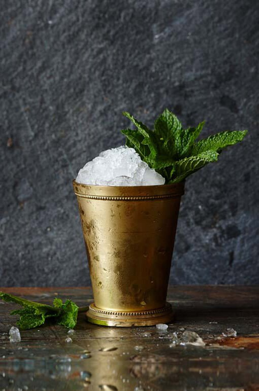 Gin Julep cocktail recipe from Bluecoat American Dry Gin - Fourth of July Gindependence Day recipes