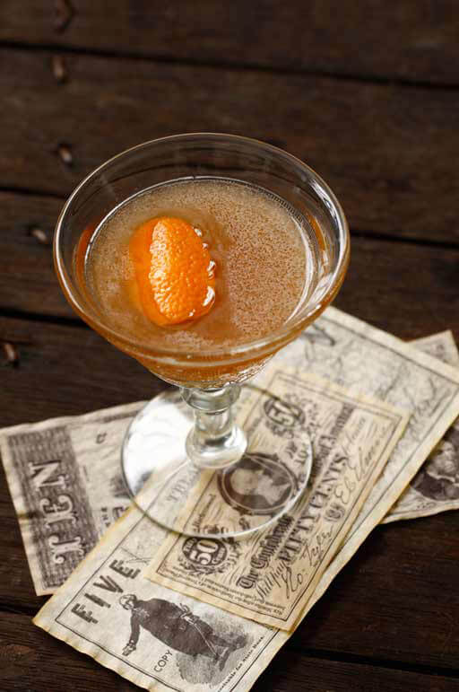 The Income Tax cocktail recipe from Bluecoat American Dry Gin - Fourth of July Gindependence recipes