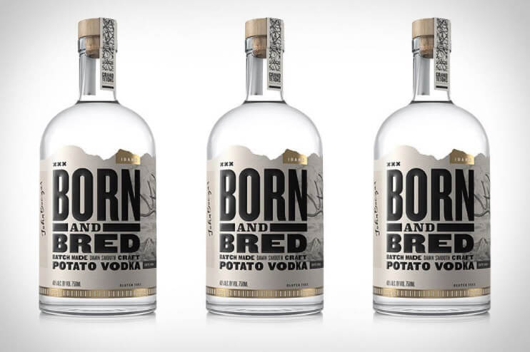 Channing Tatum and Grand Teton Distillery Born and Bred Vodka - American spirits for 4th of July promotions