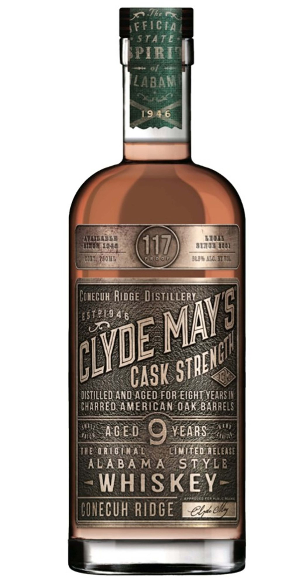 Alabama distiller Clyde May's Whiskey releases 9-year Cask Strength whiskey - What's Shakin' week of June 12