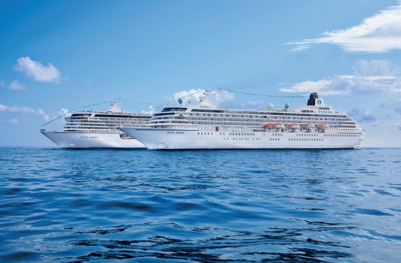 Αποτέλεσμα εικόνας για Crystal Becomes Only Luxury Cruise Line To Join ASTA as Platinum Partner