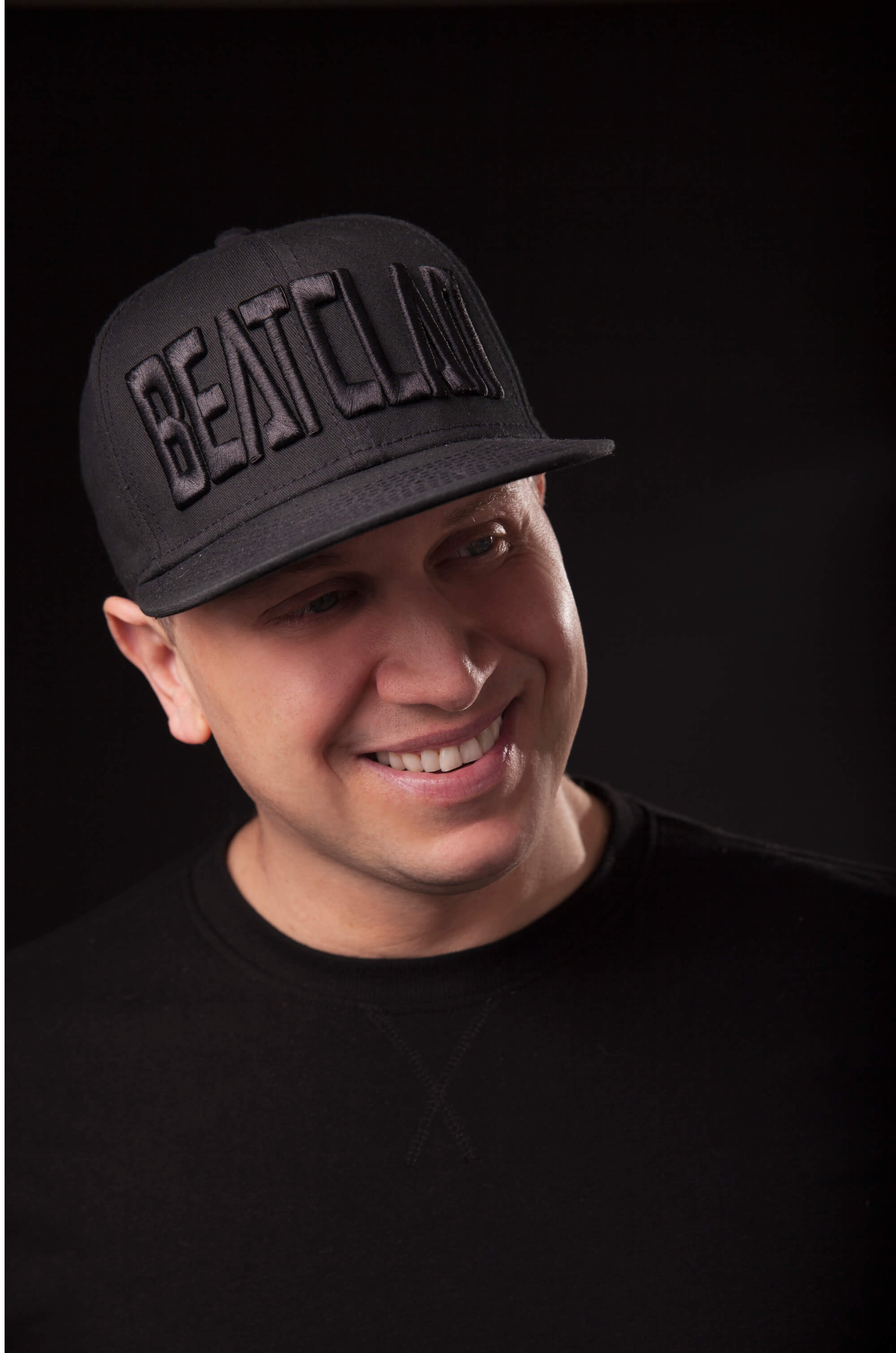 SKAM Artist DJ Hollywood wearing Beatclan cap - Meet the SKAM Artist