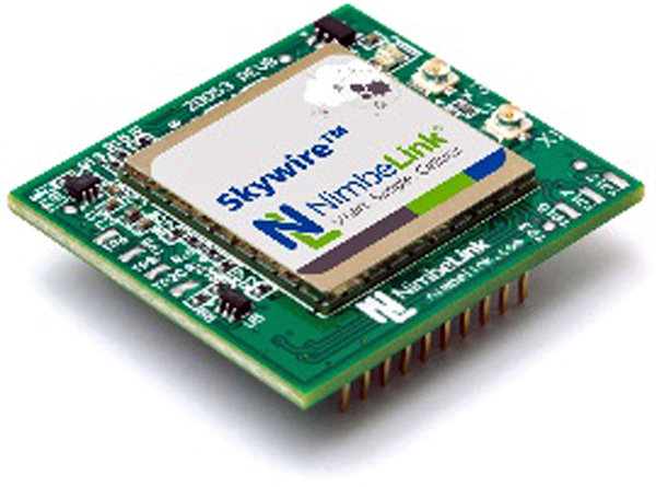 LTE M1 Skywire end-device certified modem