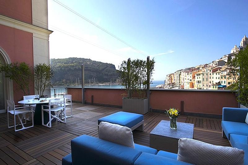 grand hotel portovenere debuts two new suites hotel management. Black Bedroom Furniture Sets. Home Design Ideas