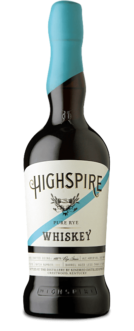 Highspire Pure Rye Whiskey - American spirits for 4th of July promotions