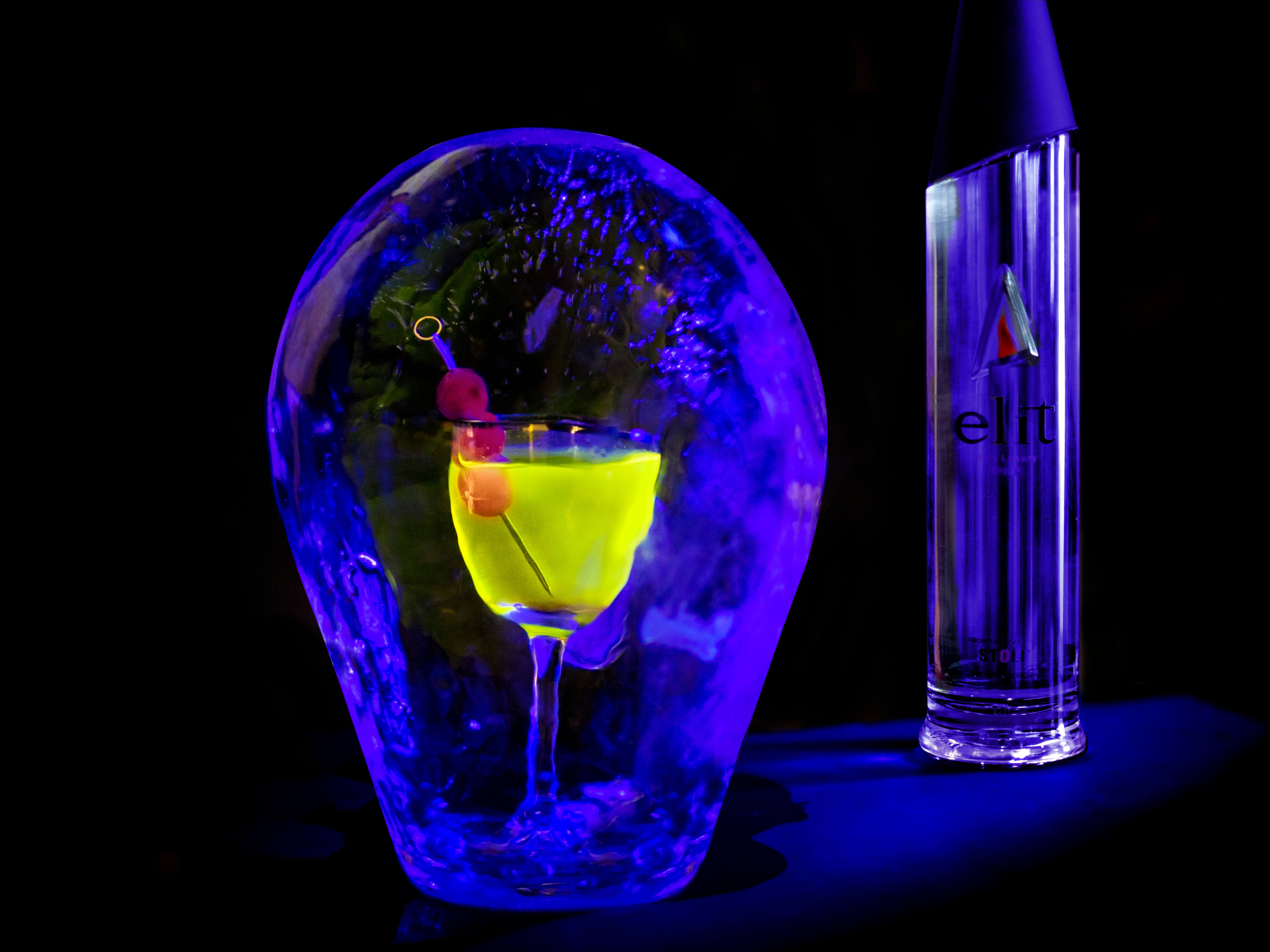 The Illumination by Rael Petit for World Martini Day at Delilah NYC - What's Shakin' week of June 12