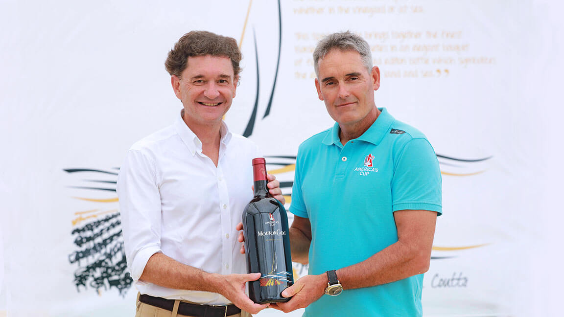 Mouton Cadet, official wine of the 35th America's Cup - What's Shakin' week of June 5