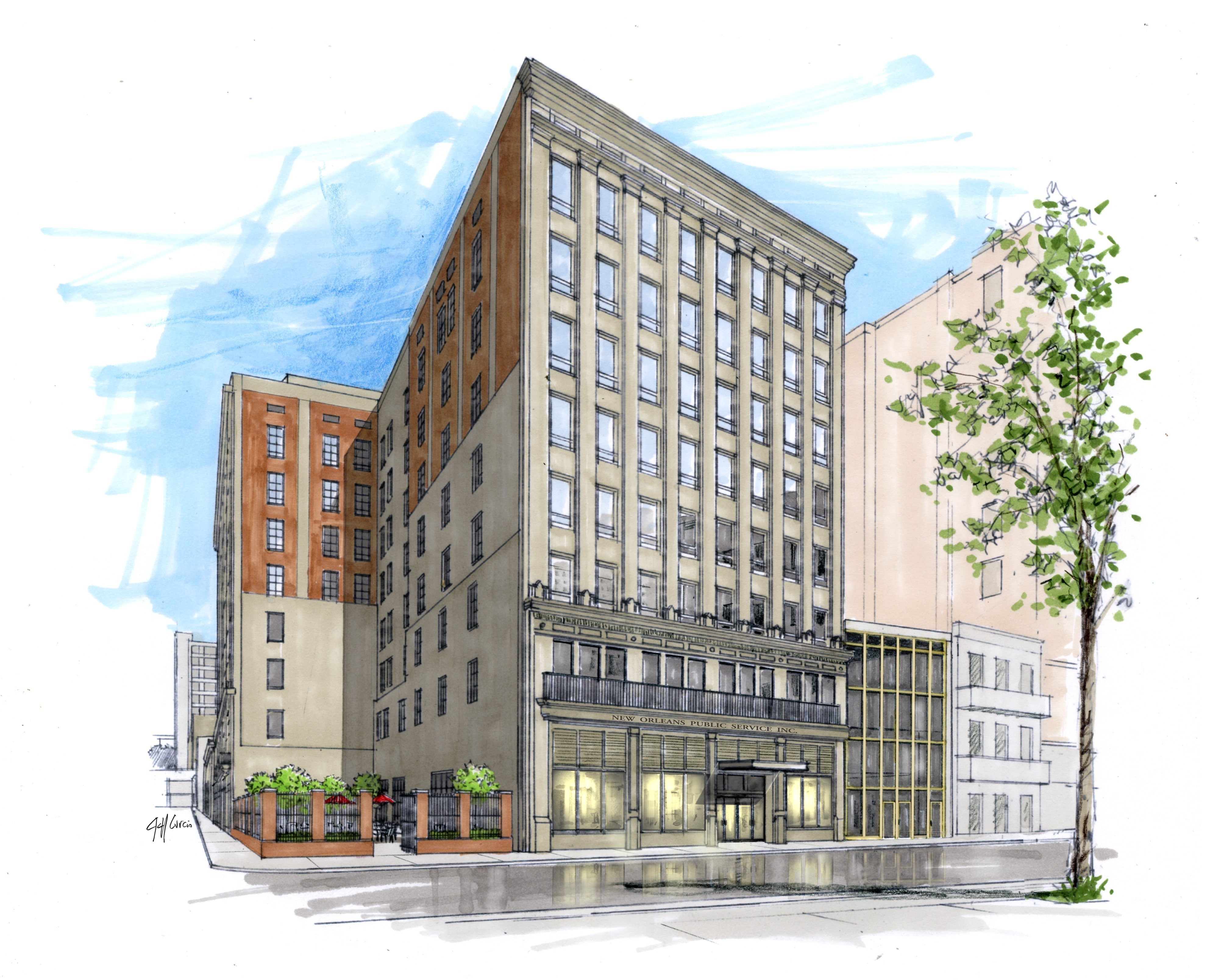 New orleans 39 new nopsi hotel emphasizes history and for Design hotel jena
