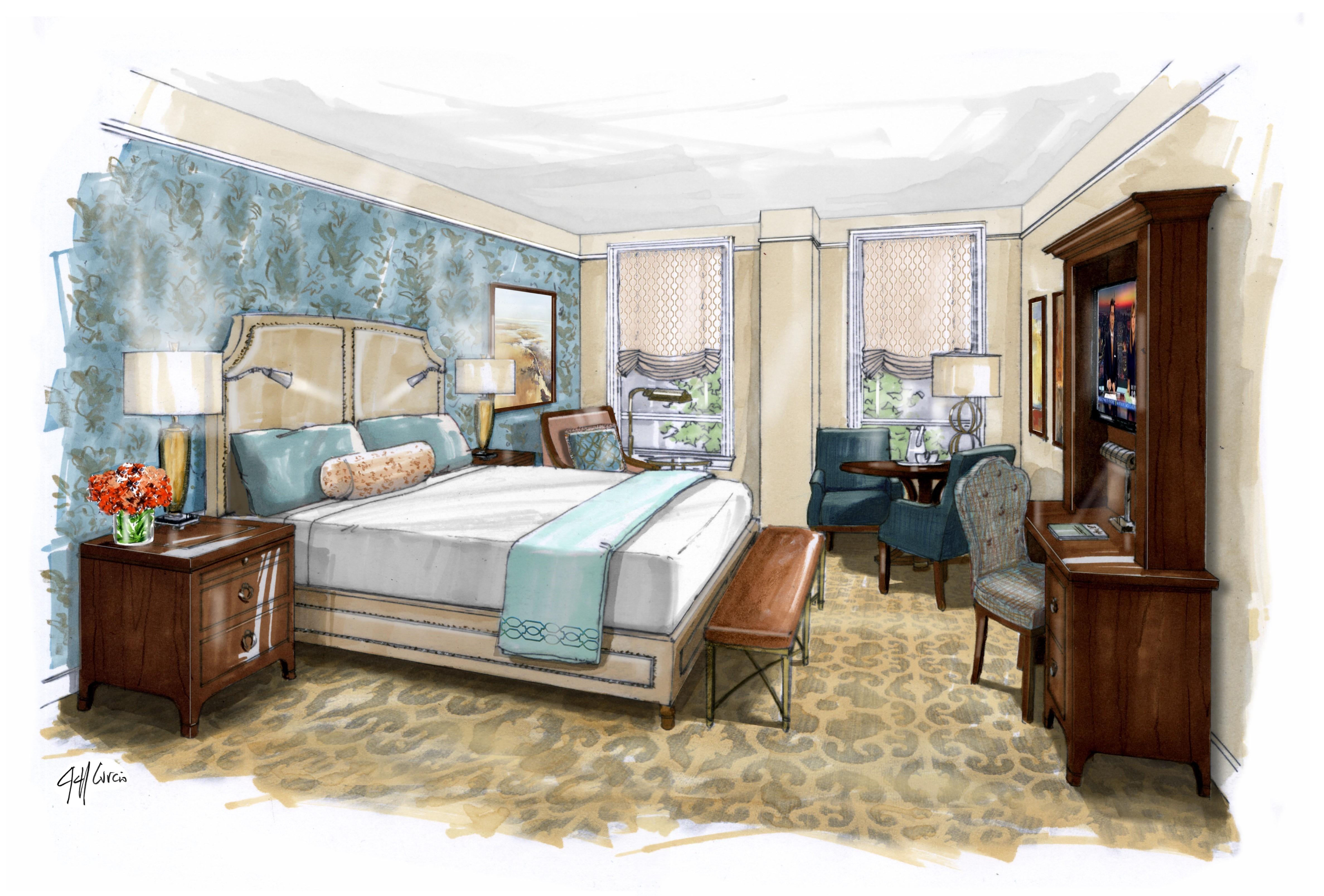 NOPSI New Orleans Guestroom