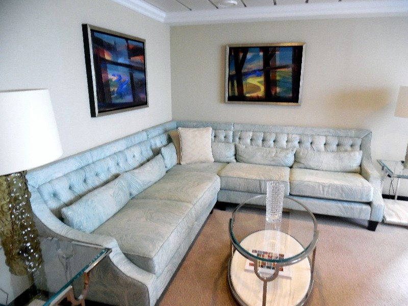 Owner's Suite Oceania Cruises Sirena Living Room Copyright by Susan J Young Editorial Use Only