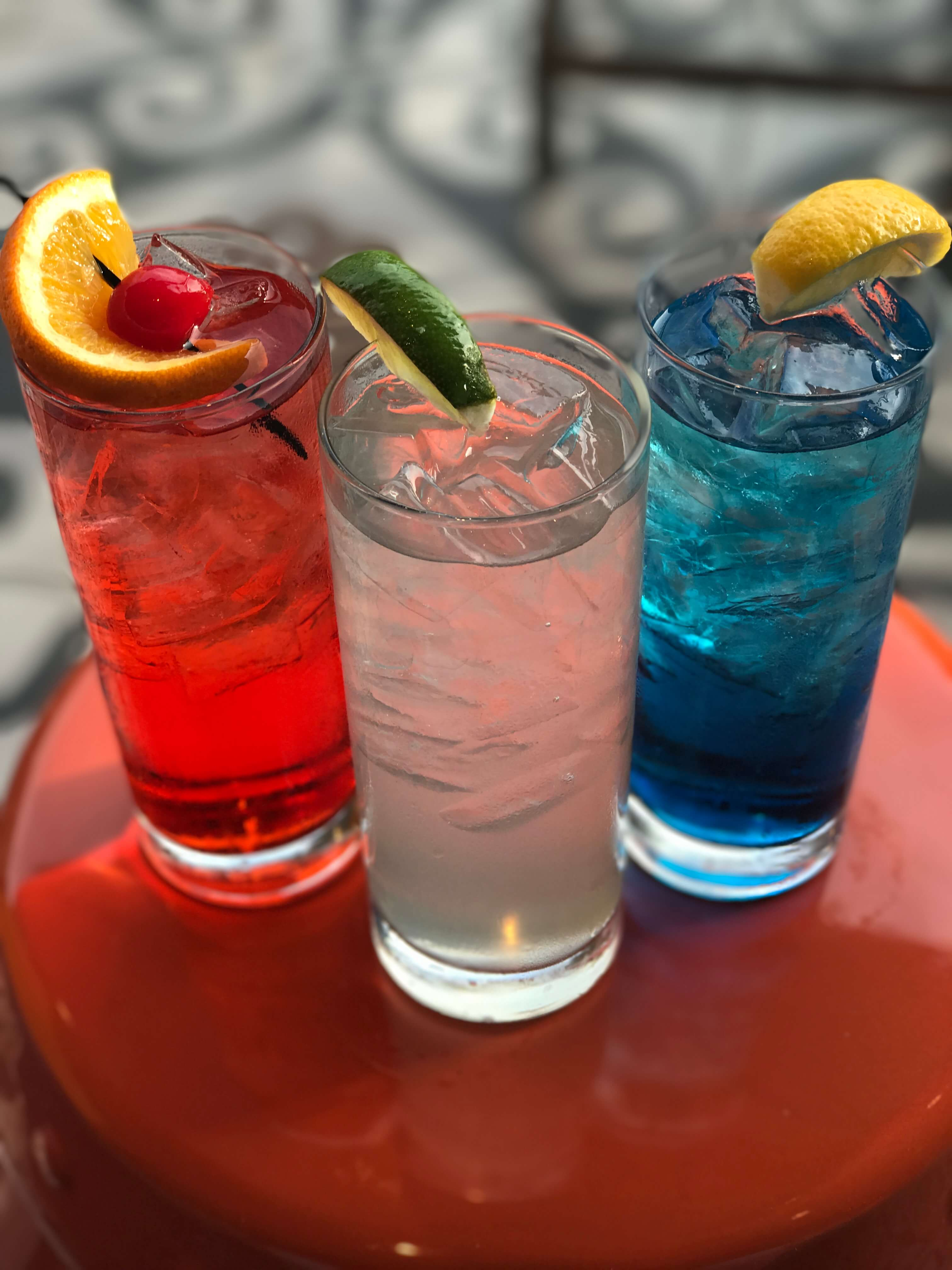 Red, White and Blue cocktails at Embassy Row Hotel - Red, White and Blue cocktail recipes for 4th of July