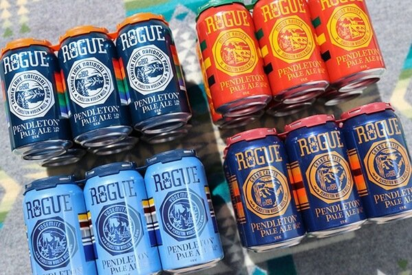 Rogue Ales Pendleton Pale Ale cans pay tribute to America's national parks - What's Shakin' week of May 29