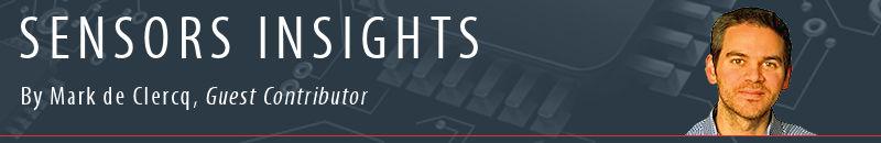 Sensors Insights by Mark de Clercq