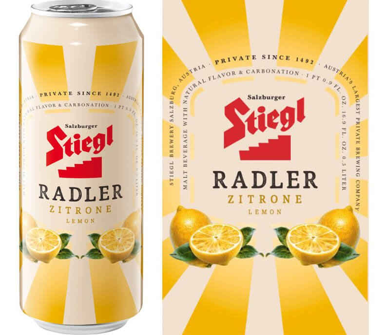 Stiegl Zitrone Lemon Radler released in the US - What's Shakin' week of June 5