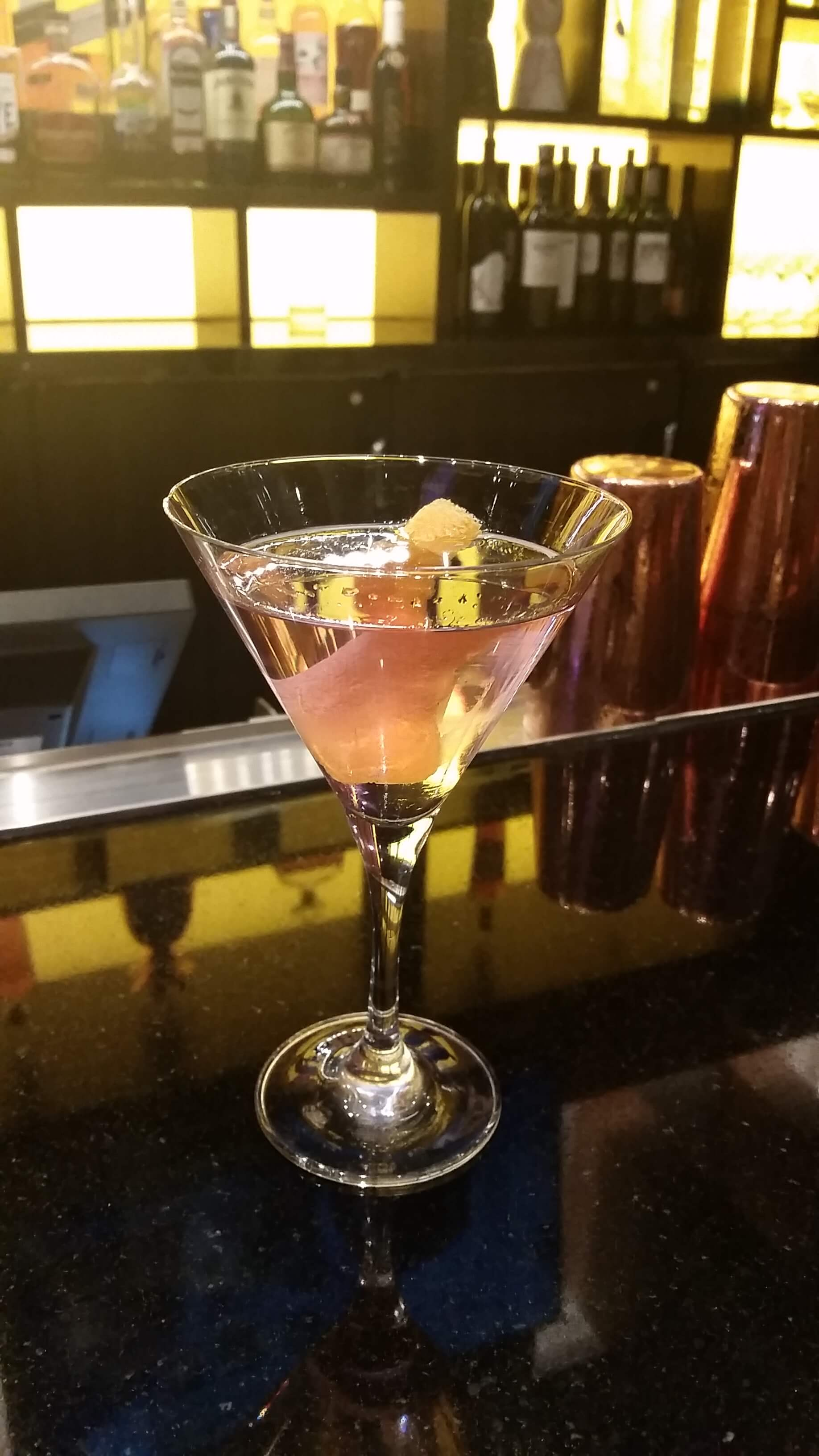 Trésor Martini courtesy of Ricardo Murcia at MGM National Harbor - National Martini Day 2017 cocktail recipes