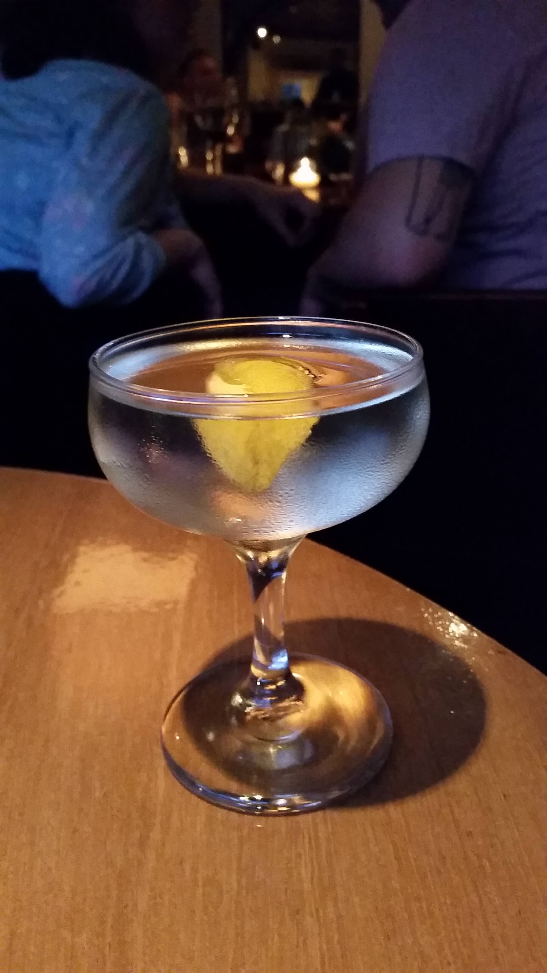 Two Paths One Way Martini courtesy of Jeff Jagger at Townsend Bar - National Martini Day 2017 cocktail recipes
