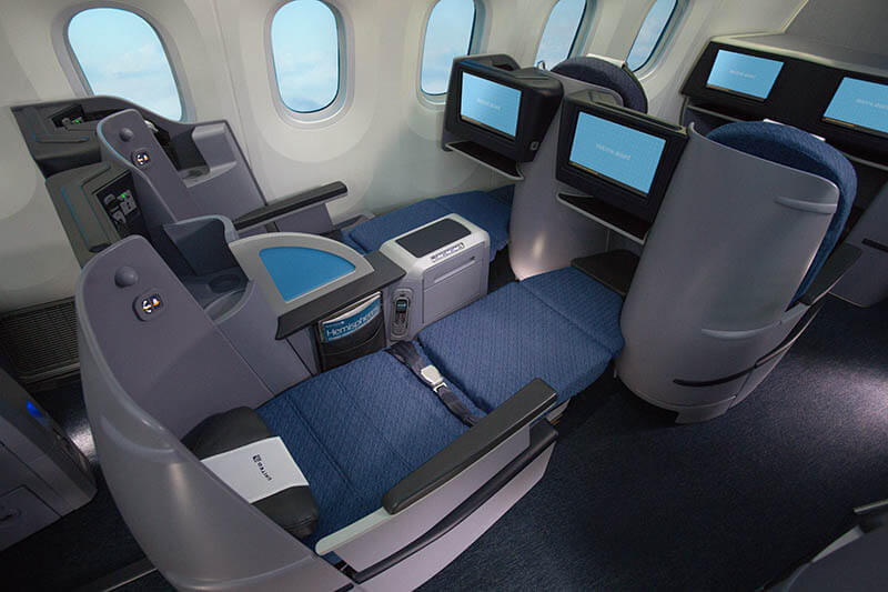 United Airlines Introduces New Business Class Transcontinental Service