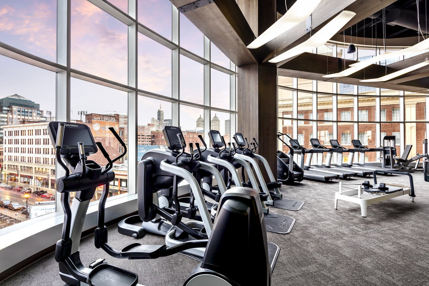 Each Westin's fitness center is designed to reflect the hotel's location.
